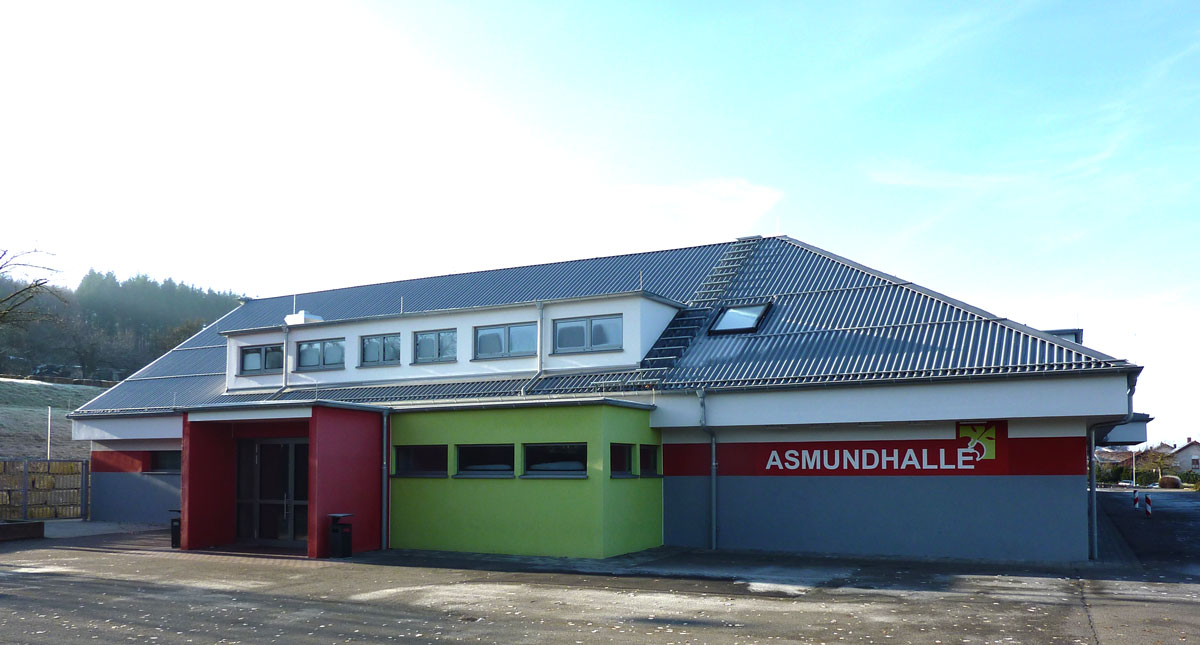 Asmundhalle in Assamstadt